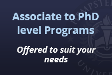 Associalte's to PhD level programs